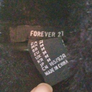 Forever 21 Skirts - Fuzzy mini dress